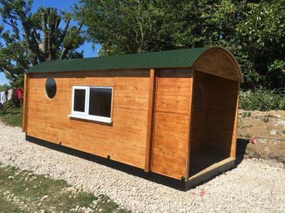 Custom Built Shepherd Hut