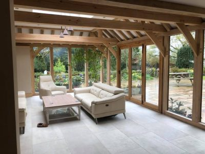 Oak Framed Garden Room