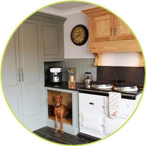Troutsdale Oak handmade kitchens
