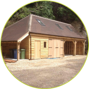 Troutsdale Oak Timber Garages & Buildings